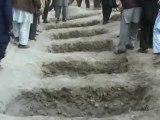 Afghan girls killed in blast are buried