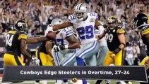 Packers Clinch; NFC East Race Tightens