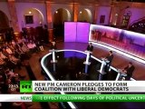 Labour rule over: New British PM Cameron to form coalition with Lib Dems