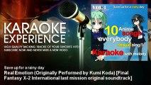 Save up for a rainy day - Real Emotion (Originally Performed by Kumi Koda) [Final Fantasy X-2 Intern
