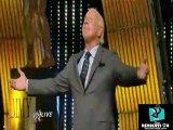 Ric flair returns to wwe 2012 on WWE RAW slammy awards