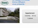 Location Appartement  Chantilly  60500 - 40 m2