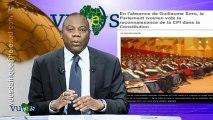 Vues d'afrique 151212  Le premier ministre, Cheikh Modibo Diarra / La justice Belge prête à ouvrir un procès sur l'assassinat de Patrice Lumumba?