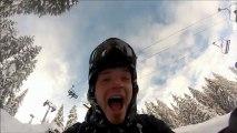 """Les Bitchs Nec a Avoriaz"" PPC Production, GoPro , Snow ,  Stash , Snowpark ! Filmed by GoPro."