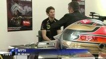 F1: Lotus prolonge le contrat de Grosjean en 2013