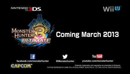 Monster Hunter 3 Ultimate Wii U - Lagombi Gameplay de Monster Hunter 3 Ultimate