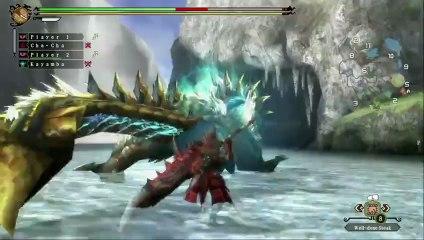 Monster Hunter 3 Ultimate Wii U -Zinogre Gameplay de Monster Hunter 3 Ultimate