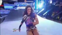 Kaitlyn vs Eve Torres (Divas Championship Match) - WWE Smack