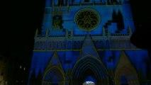 Les Chrysalides de St Jean, Lyon, Fête des Lumières 2012, spectacle entier