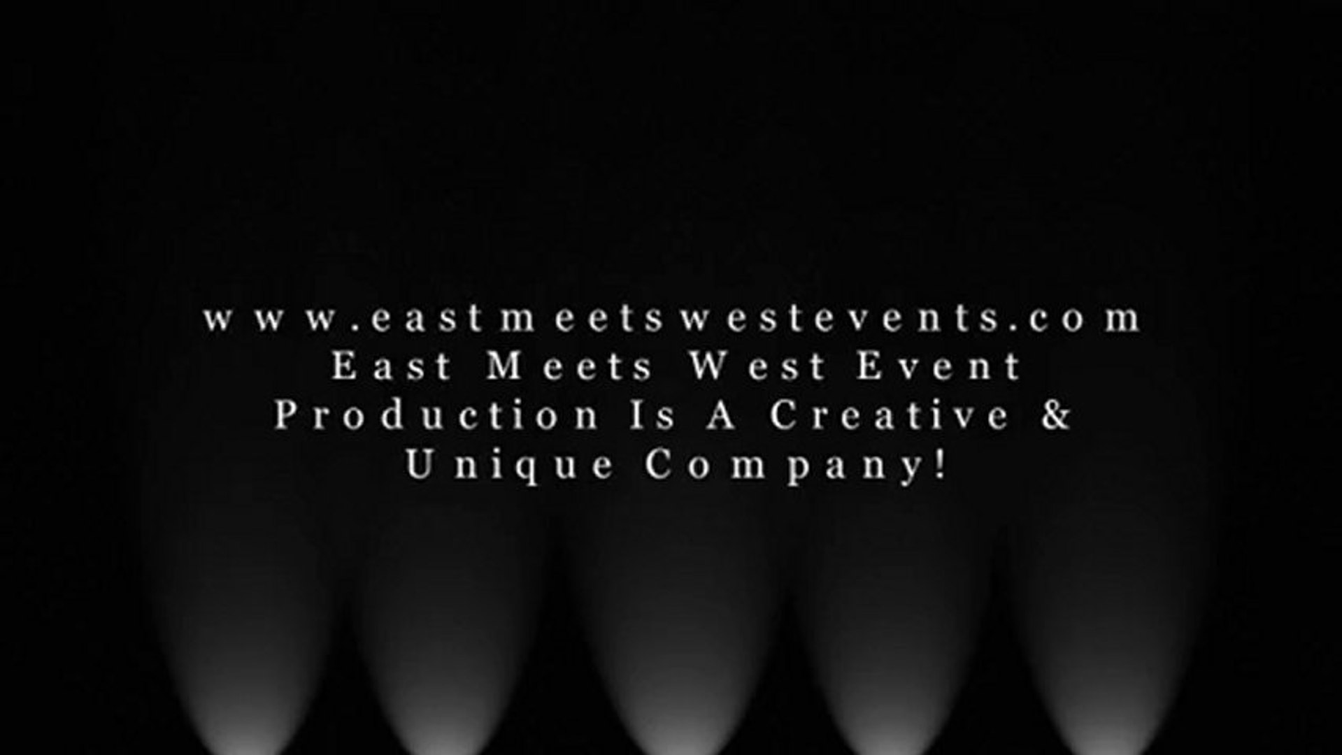 East Meets West Event Production Company. Creative & Unique Events Company.