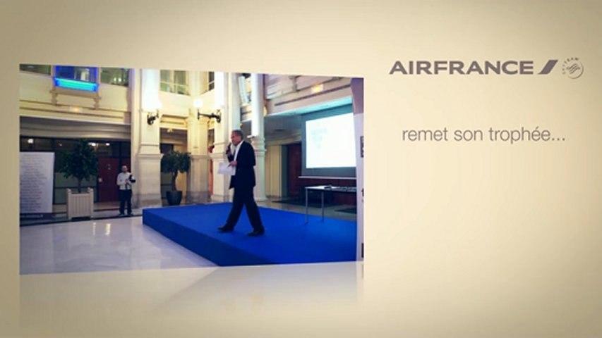 Air France KLM remet un Trophée Vinoboss Marseille 2012