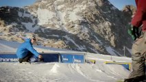 Snowboard Action Shoot 2012 at Horsefeathers Superpark Dachstein