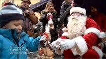 La caméra en balade - Marché de Noël au quartier de Rive (19.12.2012)