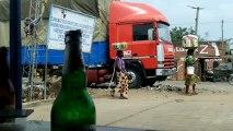 Togo - Frontière du Bénin vers Aneho