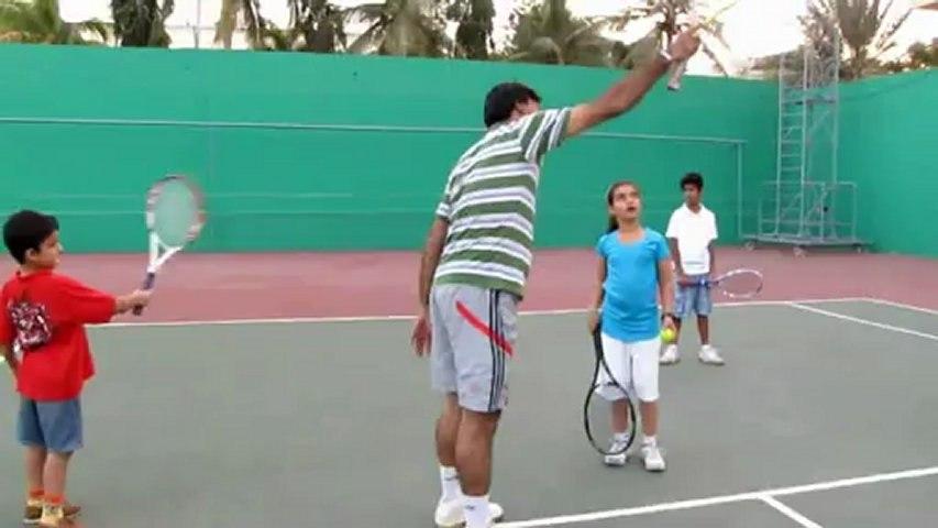 Tennis coach Humayun