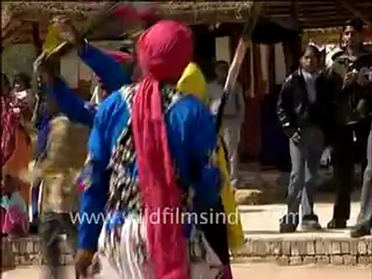 328.Traditional dances at Suraj Kund Mela.mp4
