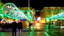 Le soir Noel - Xmas 2012 Lights walk - Nice French Rivera