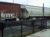 Norfolk Southern mixed freight southeast through Austell Ga. (2)
