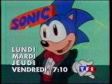 Bande Annonce de la Série SONIC Janvier 1995 TF1