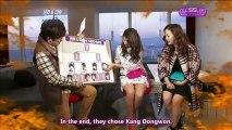 [AdoS Subs] 121208 KBS2 Entertainment Weekly - Bora & Dasom Cut (English Subs)