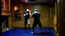 Travis Jordan 'N' Joe Thomas - Light Freestyle Creative Combatives With My Trusted Training Parter