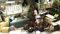 Les lapins crétins (PC) - Les lapins crétins se préparent pour la fin du monde!