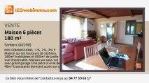 A vendre - maison - Sorbiers (42290) - 6 pièces - 180m²