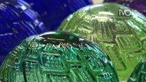 Les boules de Noël à Meisenthal
