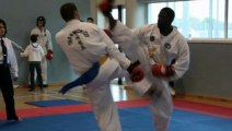 Poleeze Taekwondo (TKD) WTF Championship 2012 in ireland