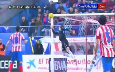 Gol Adrian Atletico de Madrid 1-0 Celta de Vigo Li -