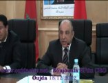 Mot de Mr  Boujouala  vice président du conseil Régional de l'oriental : oujda  table ronde autour du secteur agroalimentaire et accés à l'innovation / oujda  maroc