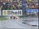 GP Canada, Montreal 1989 Senna supera Warwick e intevista a Cheever