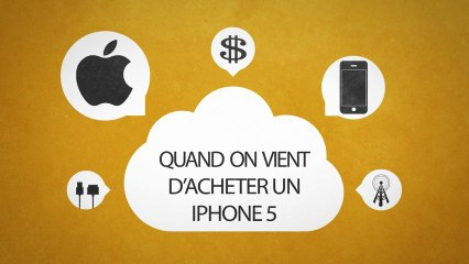 QQSPQ # 1 Qu'est ce qui se passe quand...On vient d'acheter un Iphone 5 ? Aurel&Co