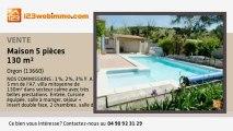 A vendre - maison - Orgon (13660) - 5 pièces - 130m²