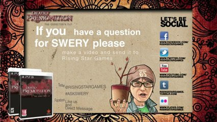 ASK SWERY de Deadly Premonition: The Director's Cut