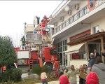 Γιορτές για τα παιδιά των πυροσβεστών και των εκπαιδευτικών