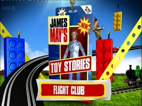 NEW James May's Toy Stories Flight Club
