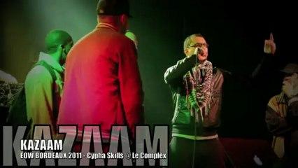 Cypha Skills ft. ADKWATTS, STRAIGHT, FLEYO, DAITOHA, DONY LONDON & KAZAAM @ EOW Bordeaux Déc. 2011