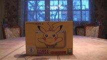 Nintendo 3DS XL Pikachu Edition (Video Unboxing) : Pika Pika !