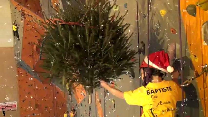 Séance de Noël au club d'escalade d'Avranches. 22/12/2012