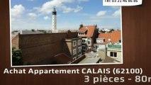 A vendre - appartement - CALAIS (62100) - 3 pièces - 80m²
