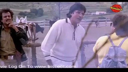 Hum : (Comedy Scene)  Amitabh Bachchan, Govinda, Rajni Kant 10