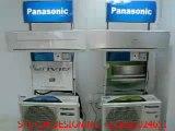 PANASONIC AIRCONDITIONER - LIVE DEMOSTRATION OF POWER CONSUPTION  - SYSTEM DESIGNING +919825024651