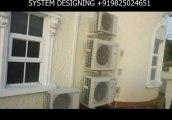 PANASONIC DUCTLESS MINI SPLIT AIRCONDITIONER - SYSTEM DESIGNING +919825024651