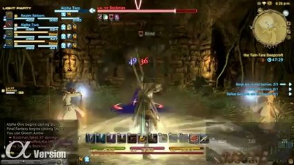 Instanced Dungeons de Final Fantasy XIV: A Realm Reborn