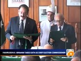 Geo News Summary- Contempt Law Petitions, Fakhruddin Takes Oath.mp4