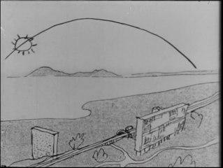 Le Corbusier, l'architecte du bonheur 1957 conceptions architecturales le modulor, l'architecture de la ville radieuse, Chandigarh, Marseille, Nantes