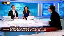 Le nombre de demandeurs d'emplois en France pourrait prochainement dépasser un record