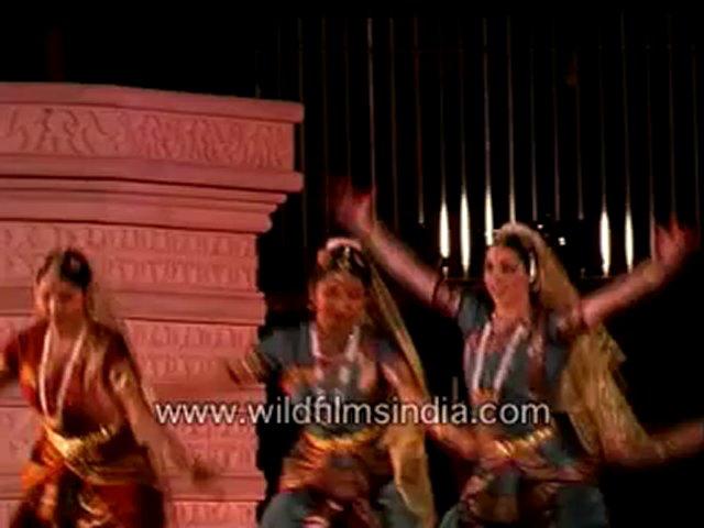 Bharatnatyam Dance in action