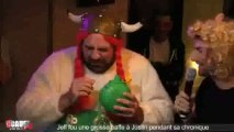 Jeff fout une grosse baffe à Justin pendant sa chronique - CCauet sur NRJ